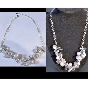 New 925 Pearl Crystal Special Occassion Necklace